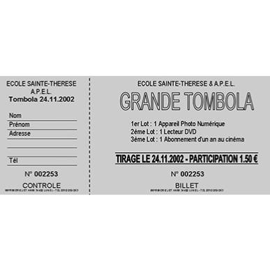 tickets de tombola clic print